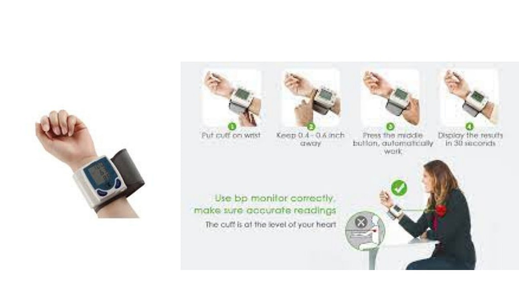 How to Use a Wrist Blood Pressure Monitor
