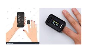 Finger Blood Pressure Monitor