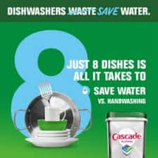 Cascade Complete ActionPacs Dishwasher Detergent