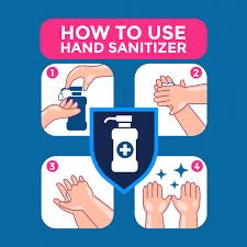 Properly Use Hand Sanitizer