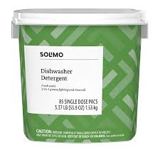 Solimo Dishwasher Detergent Pacs