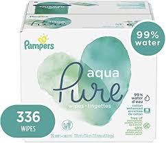 Pampers Aqua-Pure seventh baby wipes
