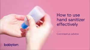 How to Properly Use Hand Sanitizer