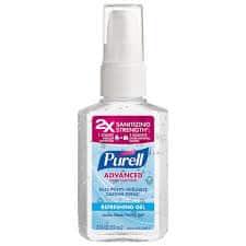 Purell Advanced Spray Hand Sanitizer Refreshing Gel