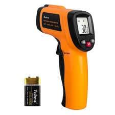 infrared heat gun thermometer