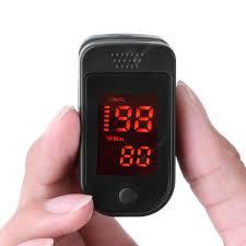 Finger pulse monitor