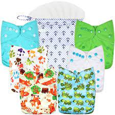 Wegreeco Washable Reusable Diapers