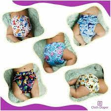 Reusable Baby Cloth receptacle Diapers