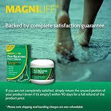 Magnilife DB Pain Relieving Foot Cream.